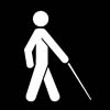 Symbol for accessibility - vision impaired