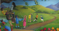 Image of Children's waiting room mural